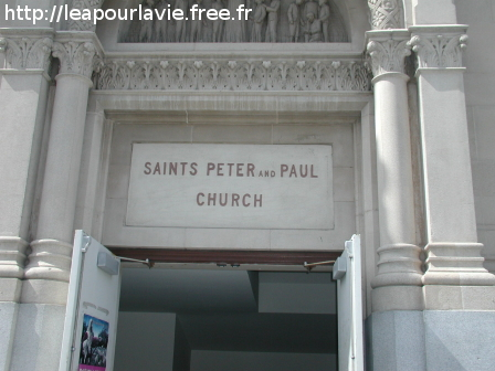 Eglise de St Pierre et Paul à San Francisco (USA)