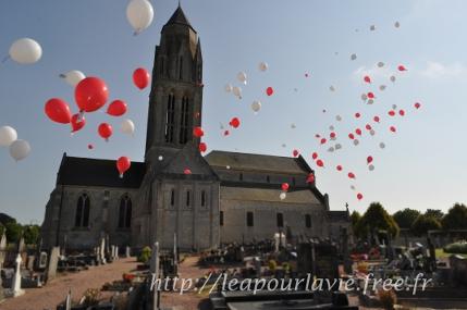 Lâcher de ballons du 10/07/2013