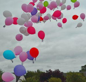 Lâcher de ballons du 10/07/2012